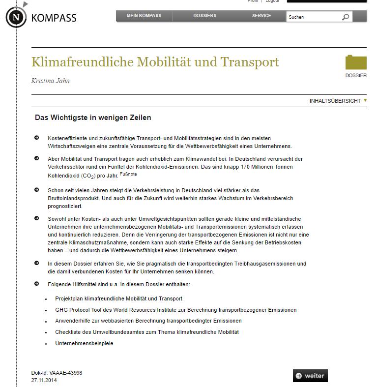 mobilität in deutschland 2015